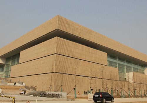 电动百叶,天津图书馆