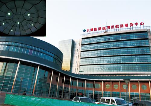 电动天棚帘,天津临港航运服务中心